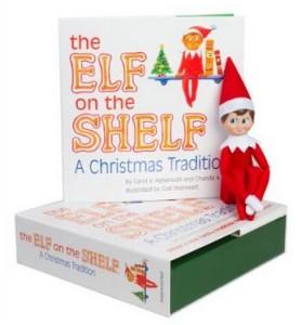 The Elf on the Shelf A Christmas Tradition 279x300 Elf on the Shelf Boy or Girl for $19.98 (Reg $29.99)!