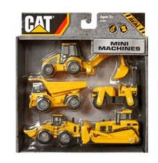 Toystate Caterpillar Construction Mini Machine 5-Pack