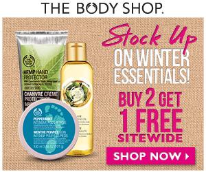 buy 2 get 1 free bodyshop