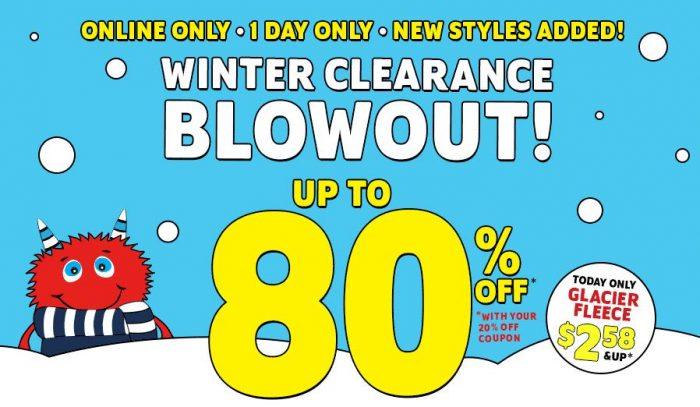 childrens place winter blowout clearance sale
