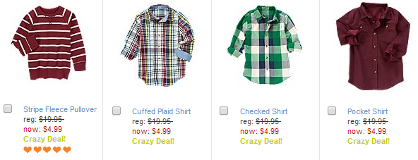 crazy 8 boys shirts