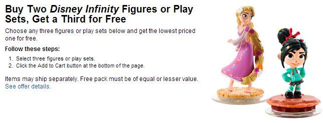 disney infinity figures bestbuy deal