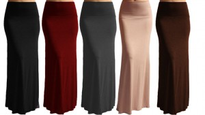 fashion maxi skirt