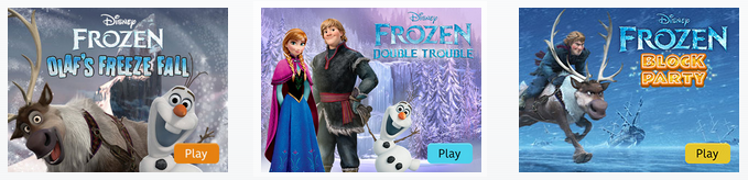 free frozen games