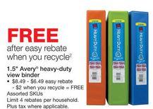 free staples binder