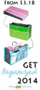 get organized handbag organizer.