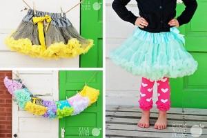 girls petty skirts