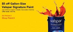 lowes valspar paint deal