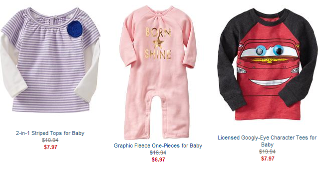 old navy clearance baby