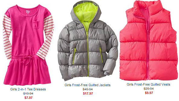 old navy clearance girls