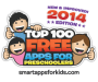 top 100 free apps for preschoolers