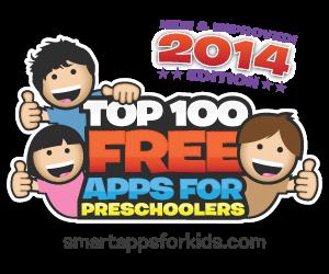 top 100 free apps for preschoolers