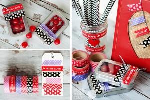 valentines washi tape