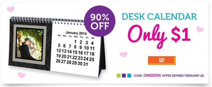 york photo desk calendar
