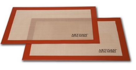 Artisan Metal Works Silicon Non-Stick Baking Mat Sets