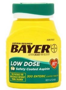 Bayer Baby Aspirin Regimen Low Dose Enteric Coated Tablets