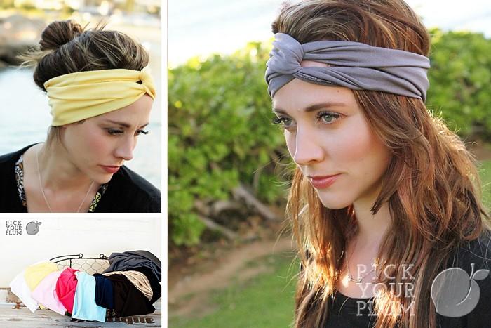 Crossover Knot Headbands
