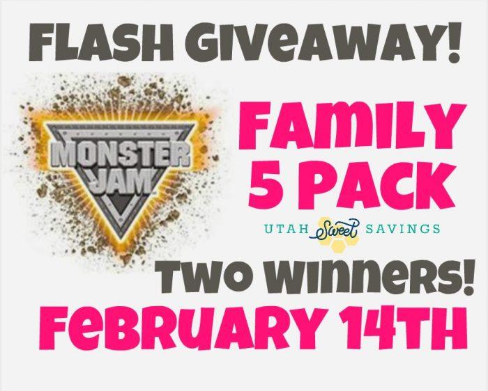 Monster Jam Flash Giveaway