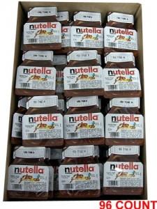 Nutella Hazelnut Chocolate Spread 96 Count
