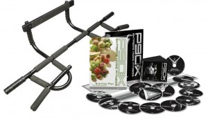 P90X DVD Workout and Nutrition Kit with Chin-Up Bar