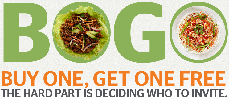 Pei Wei Buy One Get One Free Coupon