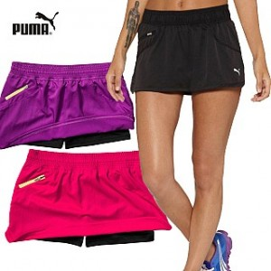 Puma Womens Pure Core Fitness Running Skorts