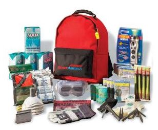 Ready America Grab 'n Go Emergency Kit- 4 Person Back Pack deluxe