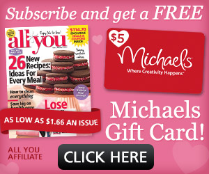 all you michaels gift card offer