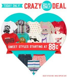 crazy 8 $0.88 sale