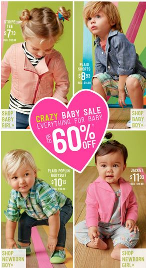 crazy 8 baby sale free shipping