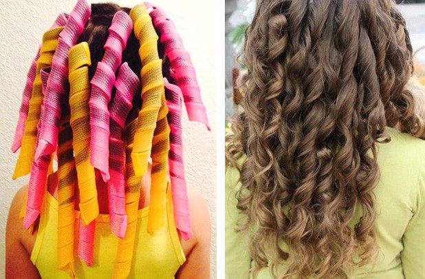 extra long spiral curlers