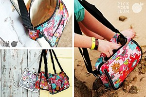 small floral bags