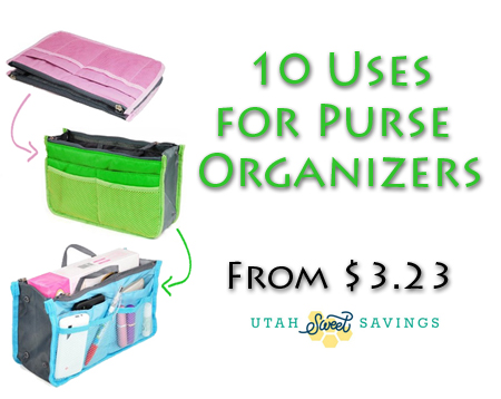 10 uses for purse organizers 10 Uses for Handbag/Purse Organizers (Starting at $3.23 Shipped)!