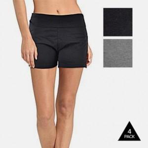 4 pack yoga shorts