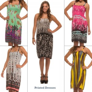 5 Pack of Summer  Cover-up Dresses