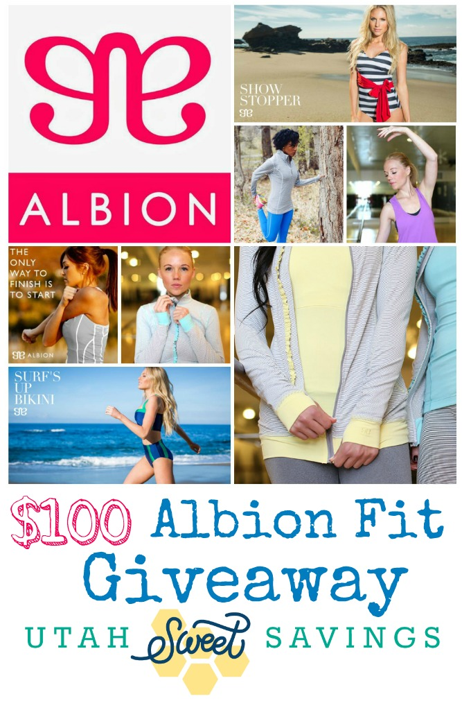 Albion Fit Giveaway