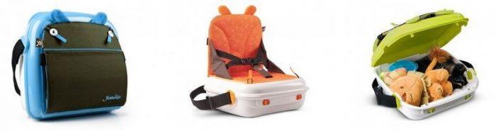 BenBat YummiGo Portable Booster Seat & Storage