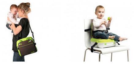 BenBat YummiGo Portable Booster Seat & Storage1