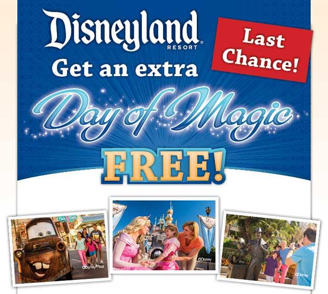 Disneyland Free DAy