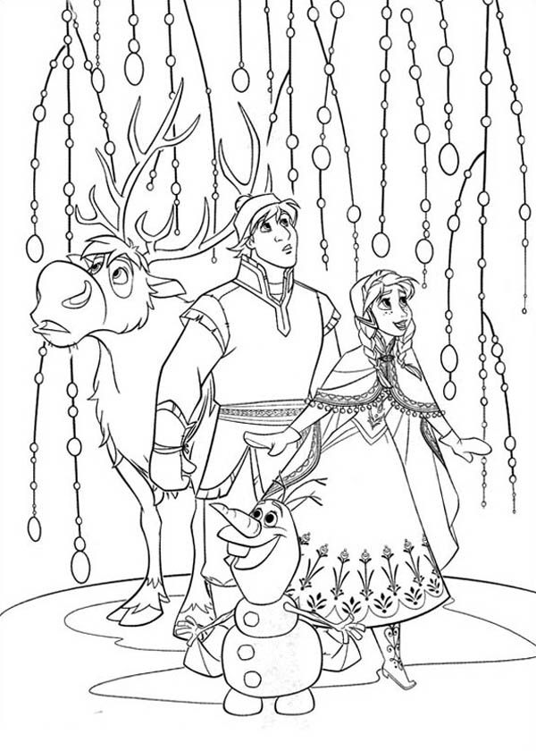 frozen coloring pages for print - photo#28