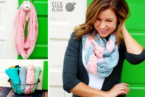 Infinity scarves 300x200 Solid Color Infinity Scarves for $2.99!