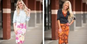 best selling scrunch skirts in prints