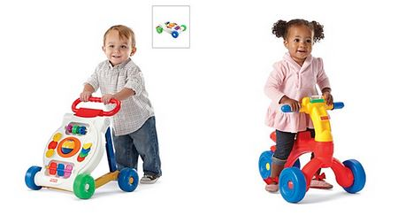 bon ton fisher price activity walker ride on deal