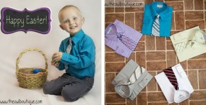 boys easter shirt and tie sets