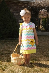 easter chick dress