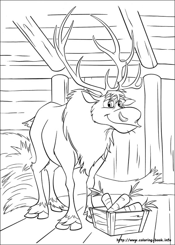frozen coloring pages for print - photo#40