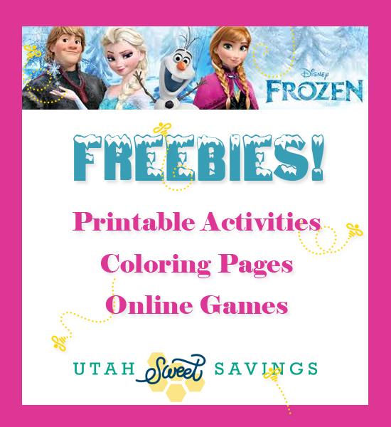 frozen free online printables