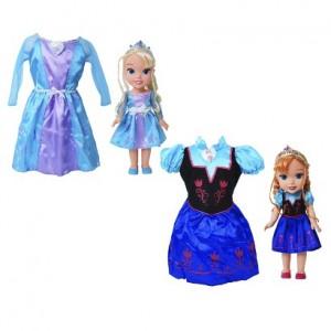 Disney Frozen Anna Or Elsa Doll Amp Toddler Dress For 34 99
