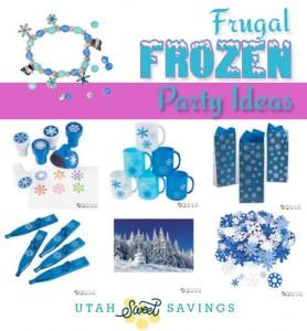 frugal frozen party ideas