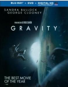 gravity on blu-ray
